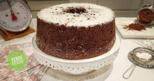 Angel cake al cioccolato e cocco