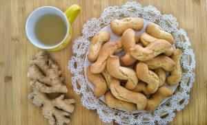 Biscotti allo zenzero e miele
