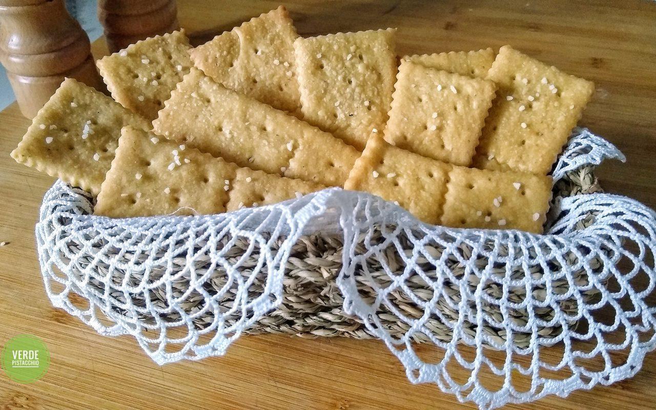 Crackers croccanti e fragranti
